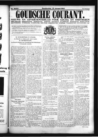 Goudsche Courant 1937-01-21