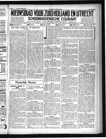 Schoonhovensche Courant 1935-08-19