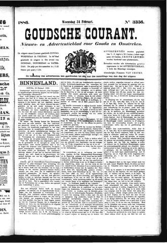 Goudsche Courant 1886-02-24
