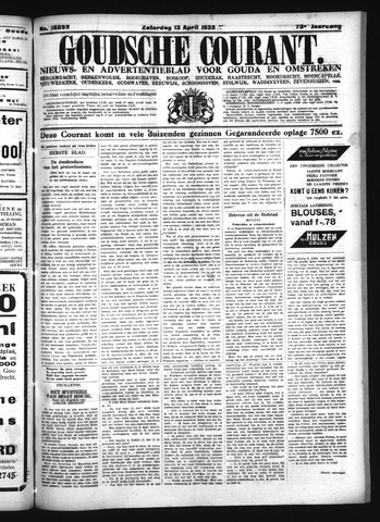 Goudsche Courant 1935-04-13