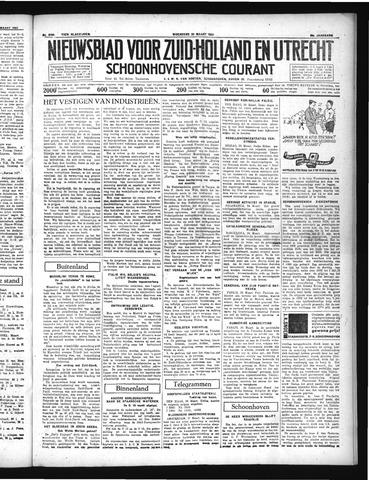 Schoonhovensche Courant 1937-03-24