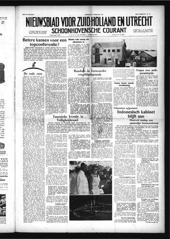Schoonhovensche Courant 1958-02-12