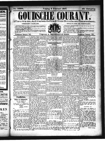 Goudsche Courant 1917-02-02