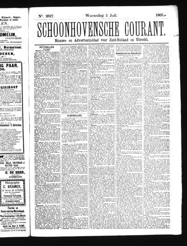 Schoonhovensche Courant 1905-07-05