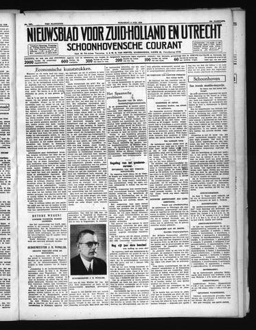 Schoonhovensche Courant 1938-07-06