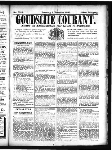 Goudsche Courant 1895-11-09