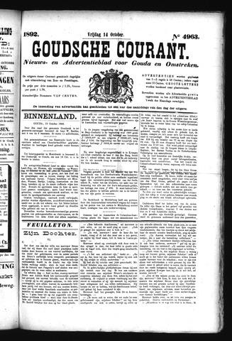 Goudsche Courant 1892-10-14