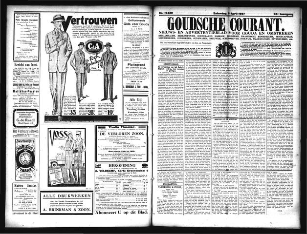 Goudsche Courant 1927-04-09