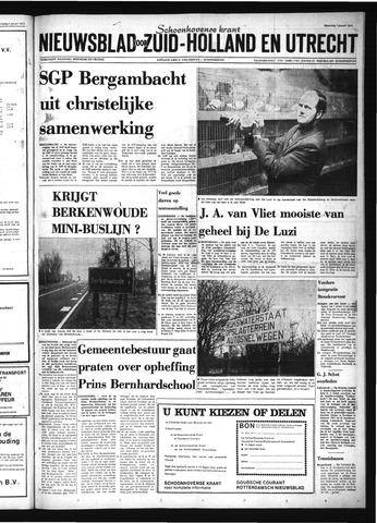 Schoonhovensche Courant 1974-01-07