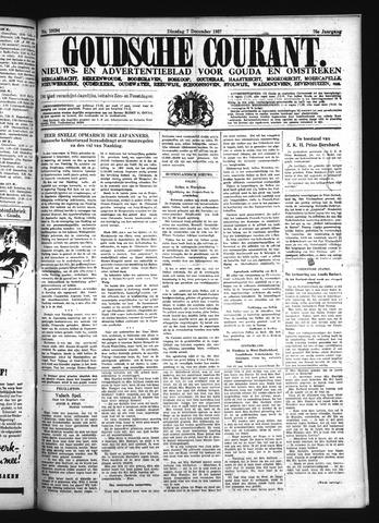 Goudsche Courant 1937-12-07