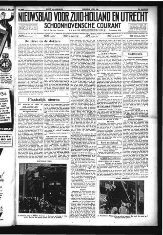 Schoonhovensche Courant 1934-05-09
