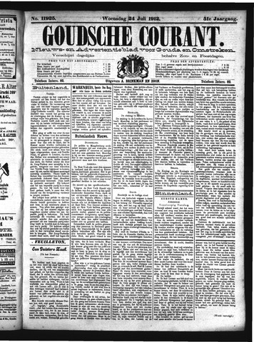 Goudsche Courant 1912-07-24