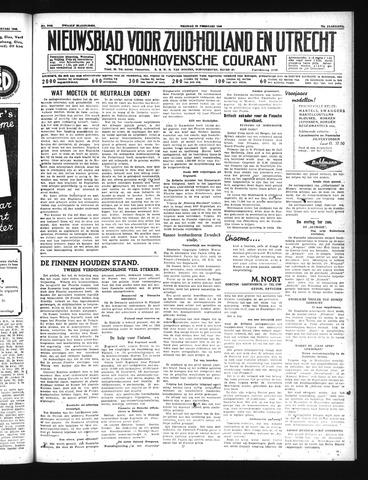 Schoonhovensche Courant 1940-02-23