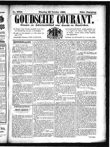 Goudsche Courant 1895-10-22