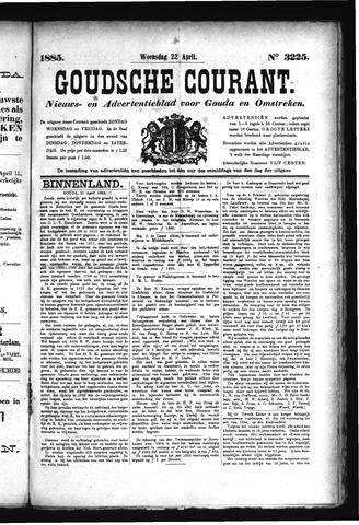 Goudsche Courant 1885-04-22