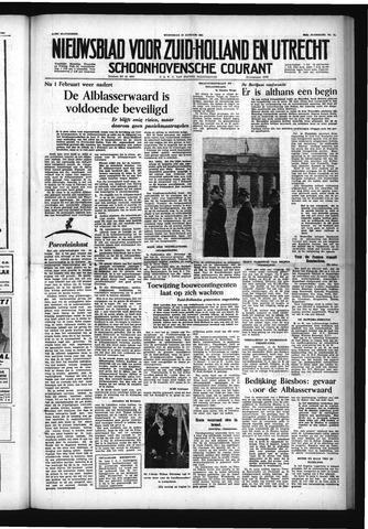 Schoonhovensche Courant 1954-01-27