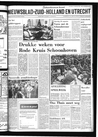 Schoonhovensche Courant 1978-08-21