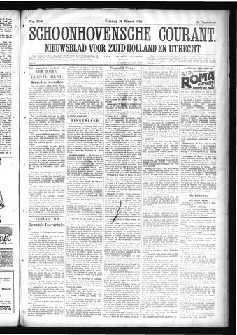 Schoonhovensche Courant 1926-03-26