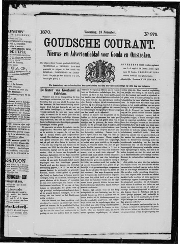 Goudsche Courant 1870-11-23