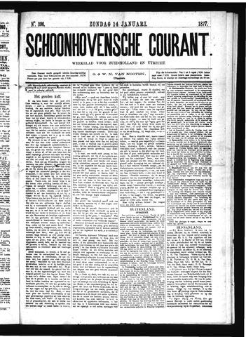 Schoonhovensche Courant 1877-01-14