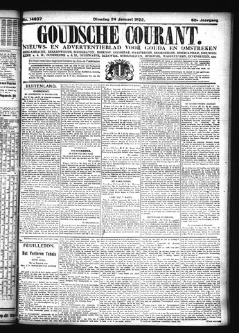 Goudsche Courant 1922-01-24