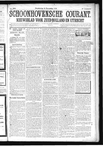 Schoonhovensche Courant 1925-12-31