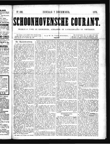 Schoonhovensche Courant 1873-12-07
