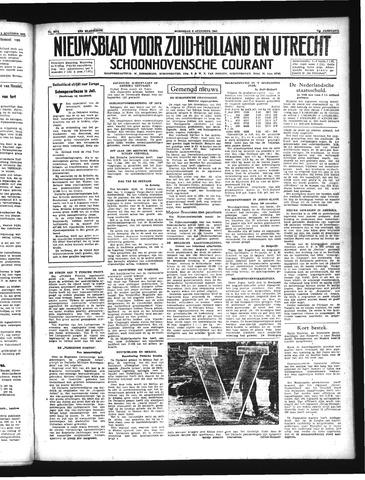 Schoonhovensche Courant 1941-08-06