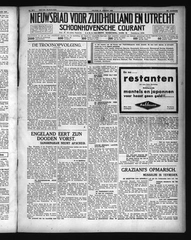 Schoonhovensche Courant 1936-01-24