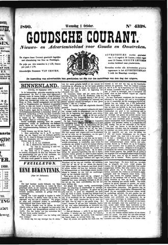 Goudsche Courant 1890-10-01