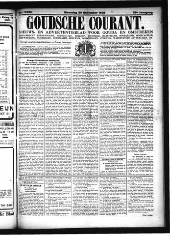 Goudsche Courant 1929-11-25