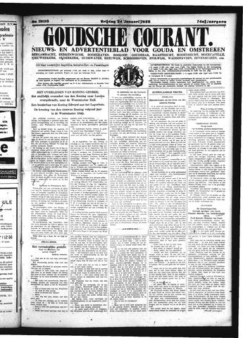 Goudsche Courant 1936-01-24