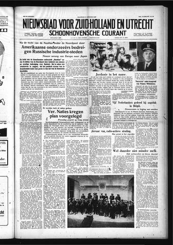 Schoonhovensche Courant 1958-08-11