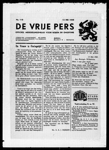 De Vrije Pers 1945-05-12