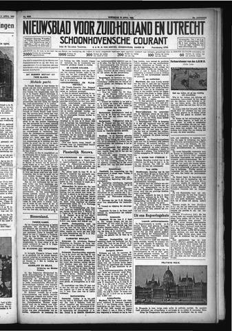 Schoonhovensche Courant 1932-04-13