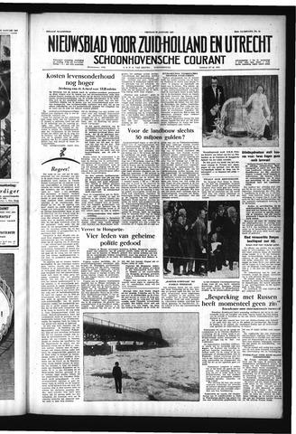 Schoonhovensche Courant 1957-01-25