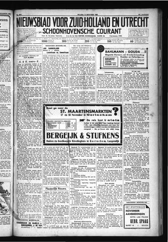 Schoonhovensche Courant 1930-11-14