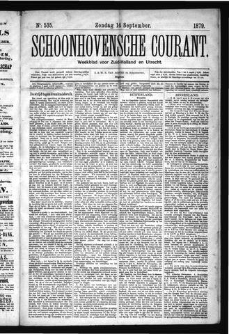 Schoonhovensche Courant 1879-09-14