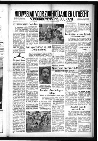 Schoonhovensche Courant 1954-07-14
