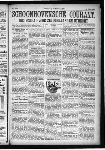 Schoonhovensche Courant 1926-02-10