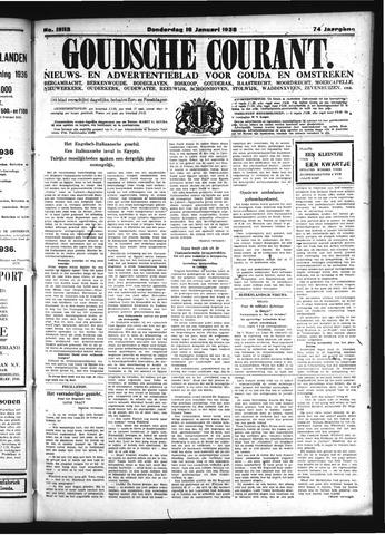 Goudsche Courant 1936-01-16