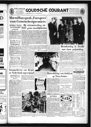 Goudsche Courant 1962-09-11