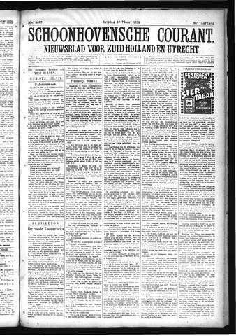 Schoonhovensche Courant 1926-03-19