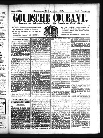 Goudsche Courant 1909-09-30
