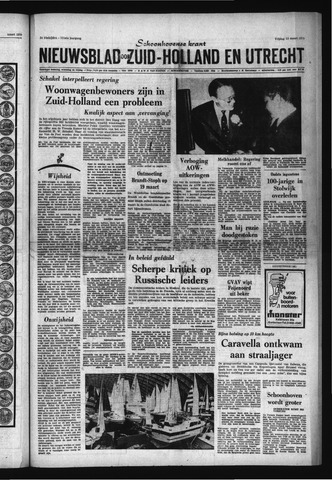 Schoonhovensche Courant 1970-03-13