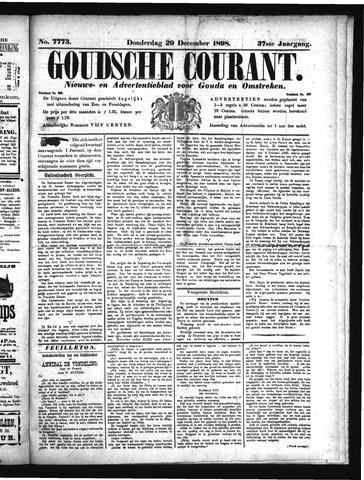 Goudsche Courant 1898-12-29