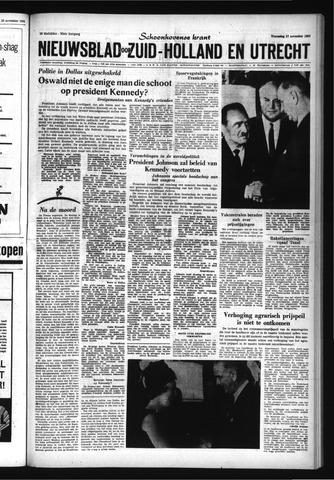 Schoonhovensche Courant 1963-11-27