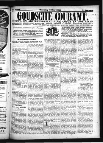 Goudsche Courant 1933-03-15