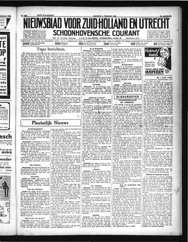 Schoonhovensche Courant 1935-02-04