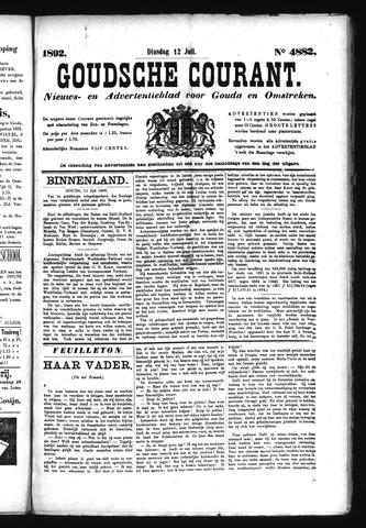 Goudsche Courant 1892-07-12